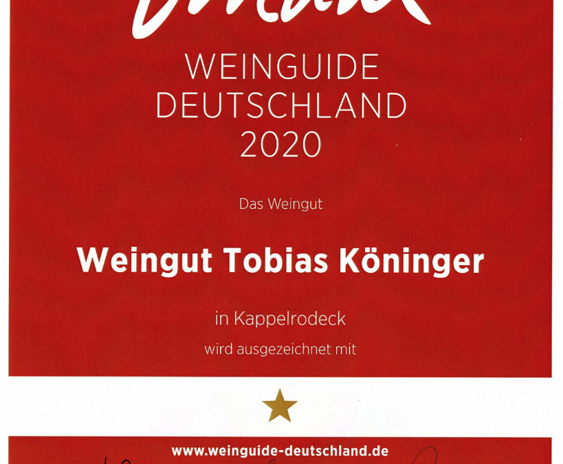 Weinguide Deutschland 2020