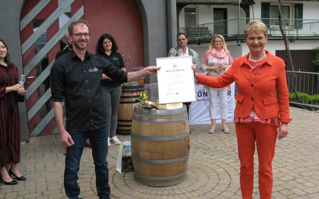 Auszeichnung Wein des Monats
